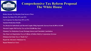 """President Trumps tax reform proposal """"The Neil A. Carousso Show"""")"""